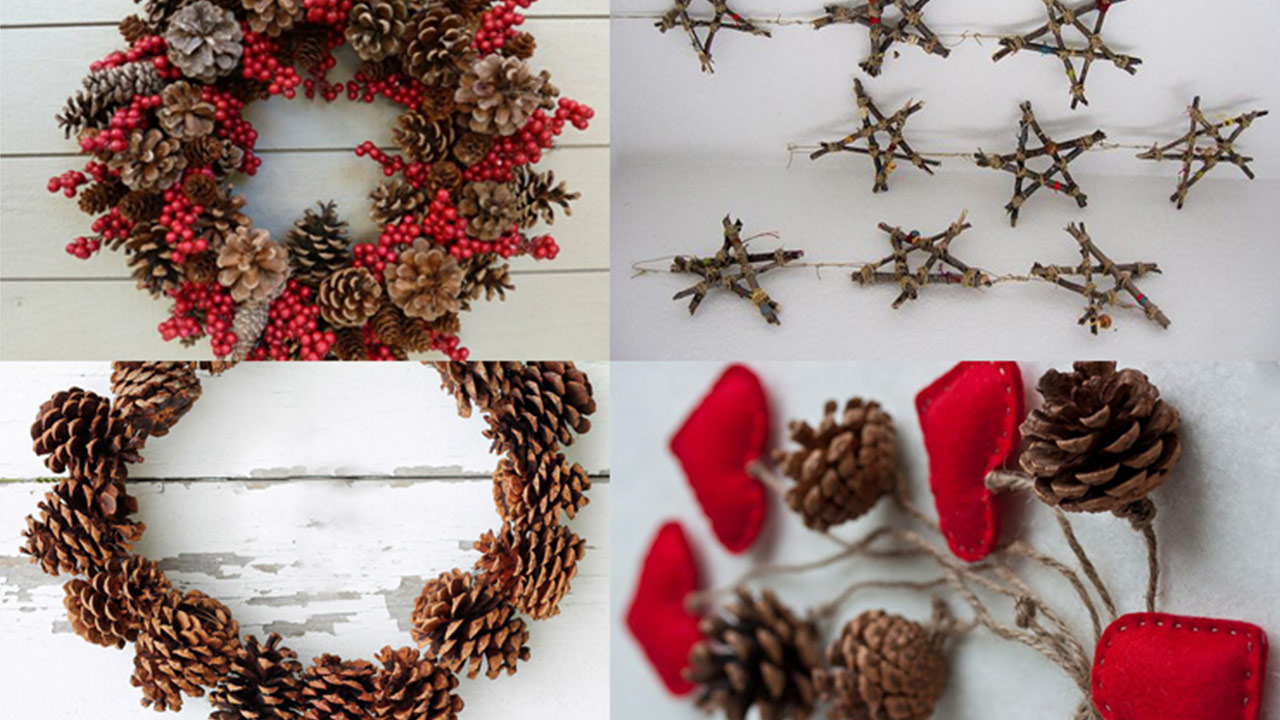 Ideas para decorar en navidad kbas Ideas de decoracion manualidades