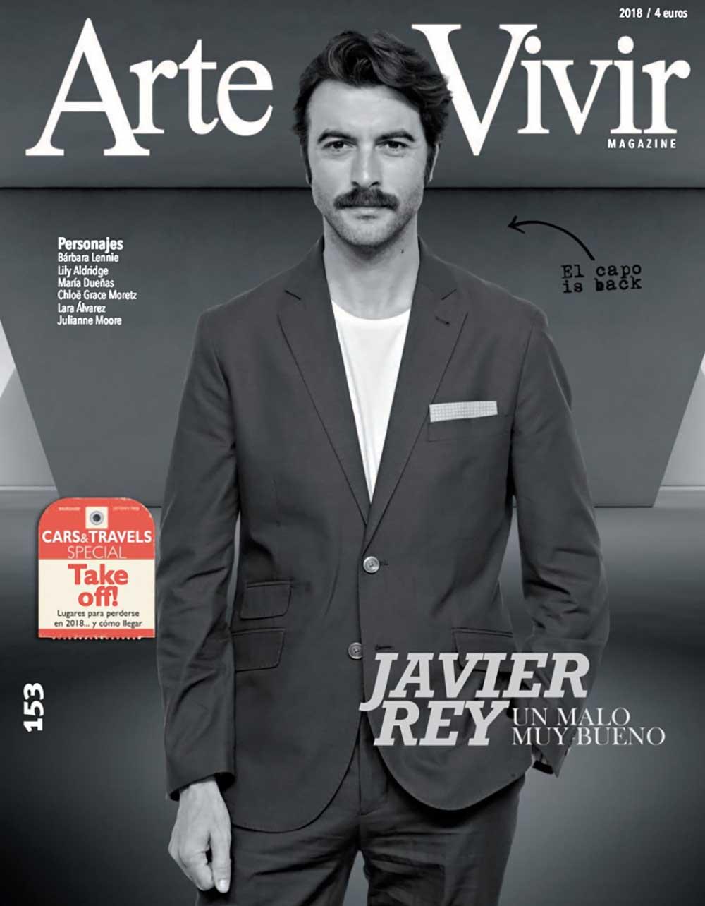 ARTE DE VIVIR PORTADA javier rey