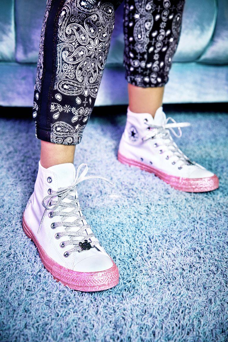 Converse x Miley Cyrus bershka
