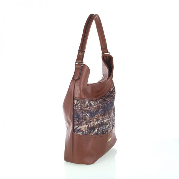 bolso tela estamapa marron_1