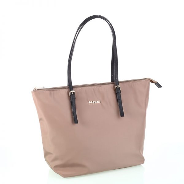 shopper nylon beig