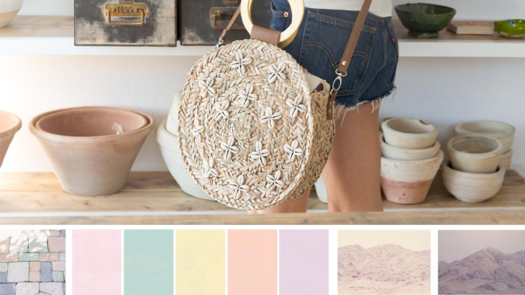 Pastel shades for this summer