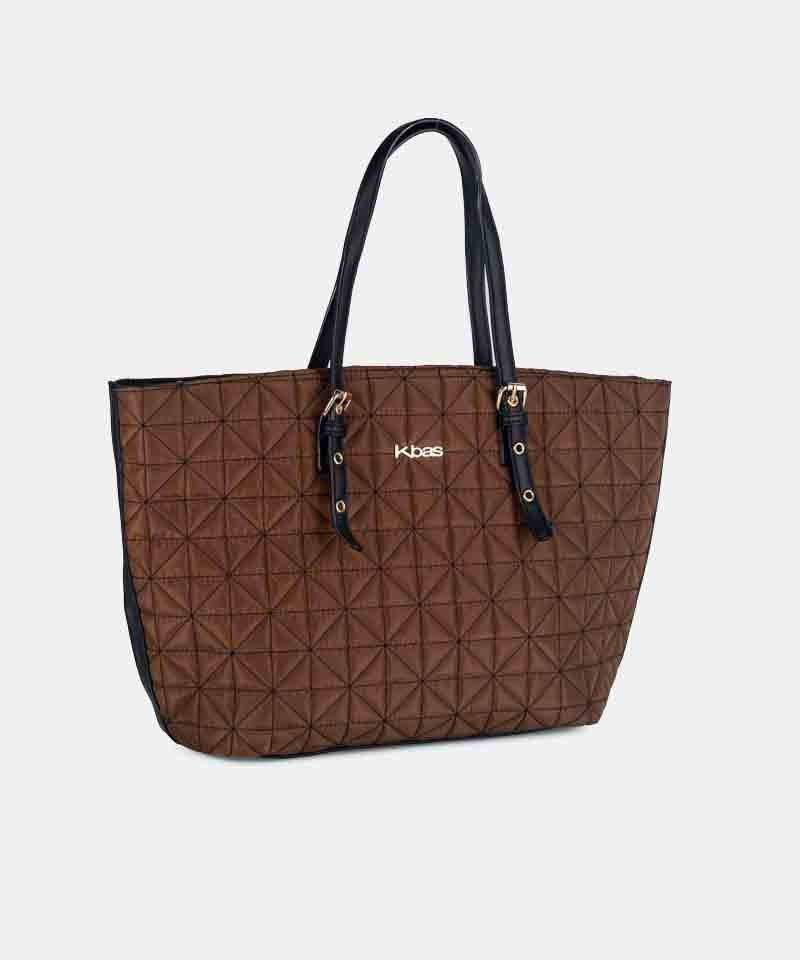 Bolso shopper nylon cobre kbas