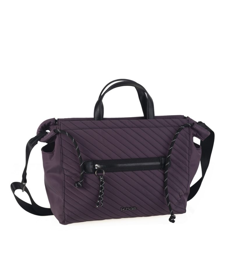 Shopper nylon lila
