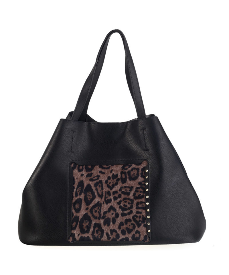 Bolso shopper leopardo kbas