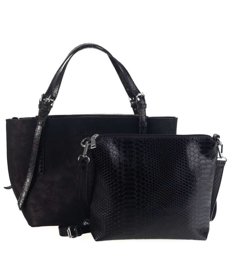 Doble bolso shopper y bandolera kbas